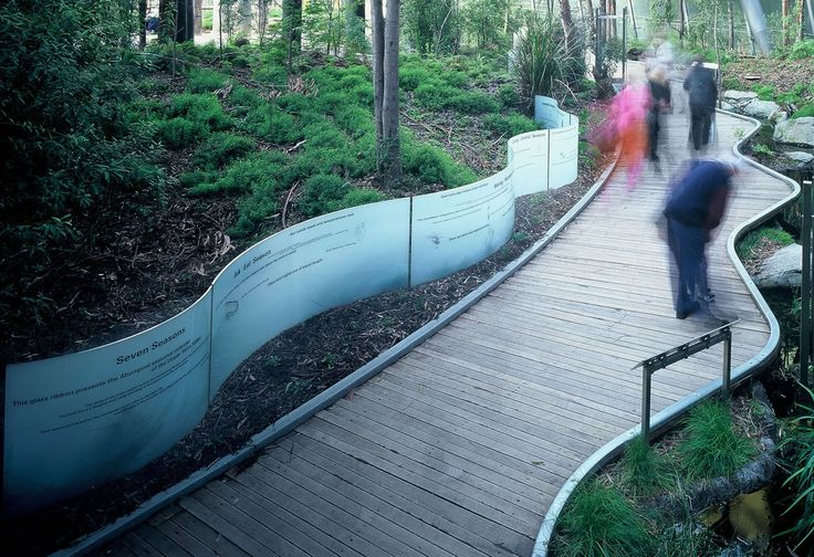 Forest Gallery at Melbourne Museum- Melbourne,Australia- Taylor Cullity Lethlean (TCL)