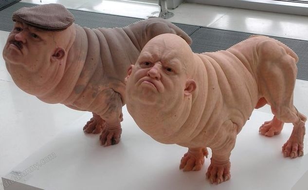 sculptures by Patricia Piccini. I'm completely stunned by these great pieces of art.
