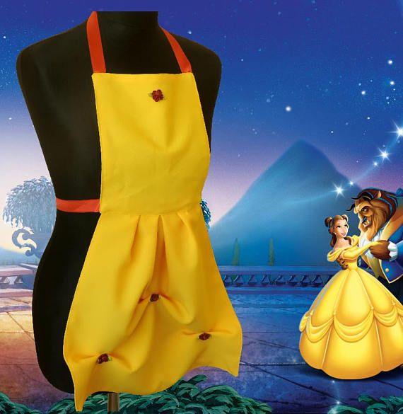 Grembiule Disney per bambini Belle La bella e la bestia