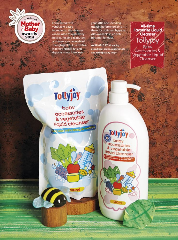 All-time Favourite Liquid Cleanser: Tollyjoy - Baby Accessories & Vegetable Liquid Cleanser