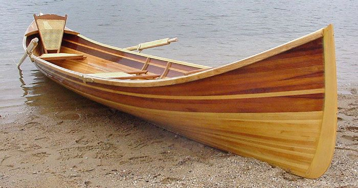 Adirondack Guideboat By Newfound Woodworks Inc Of
