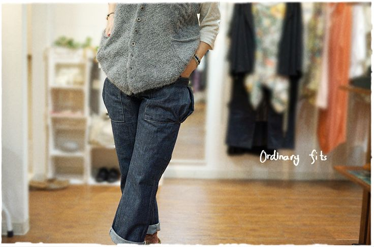 ordinary fits・オーディナリーフィッツからユーティリティデニムが届きました!
