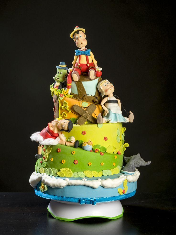 PINOCCHIO...... pinocchio cake