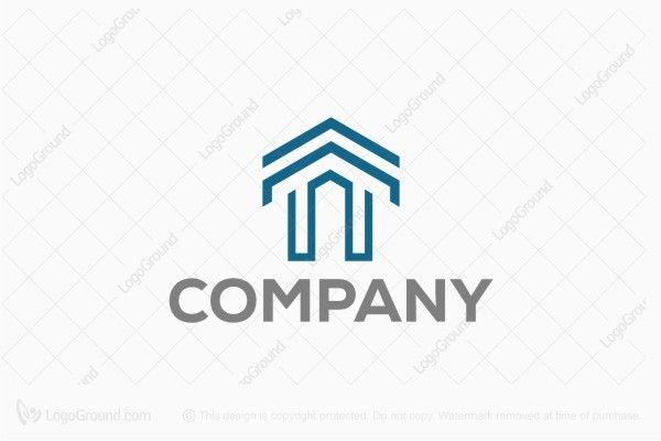 Logo for sale: Letter T Real Estate Logo
