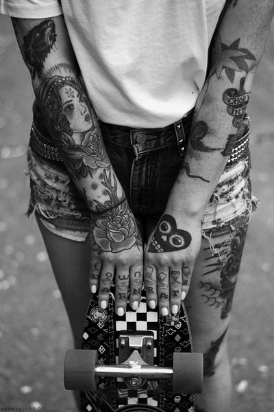 Tattoos are a way of living.