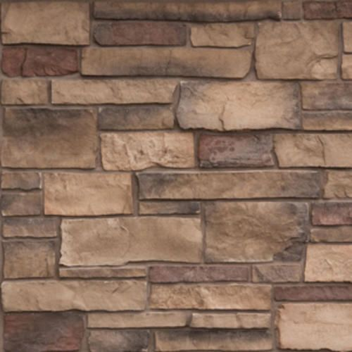 Cast Natural Stone 100 Sq Ft Delafield Ledgestone At