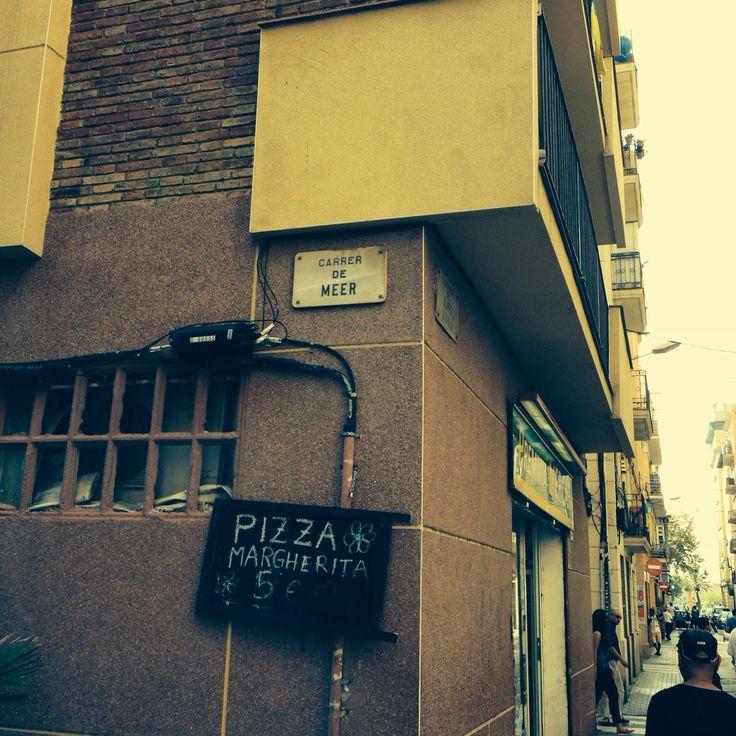 Carrer De Meer - Barceloneta 2014