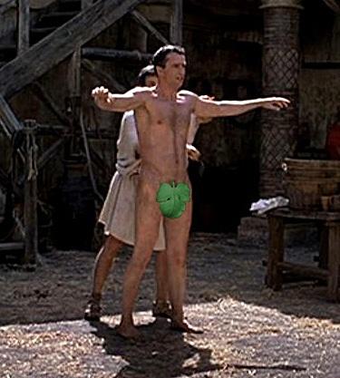 James Purefoy Nude in Rome - Sexy Nude Men