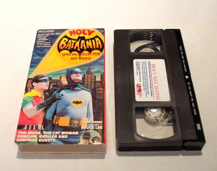 Holy Batman Special Collectors VHS Video Adam West Burt Ward
