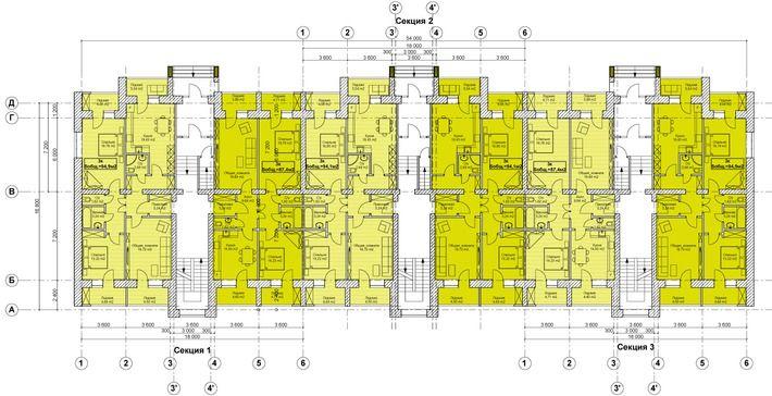 Проект: Жилой многоквартирный дом в г. Уральске — 2 Архитектора — MyHome.ru