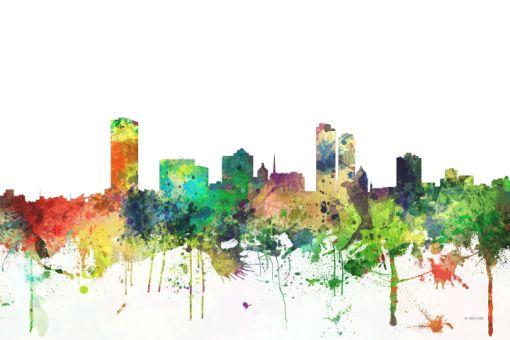 Milwaukee Wisconsin Skyline - Prints from $58.00