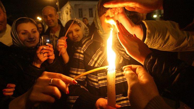 Схождение Благодатного Огня 2017 Иерусалим