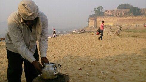 Tea at Allahabad Fort