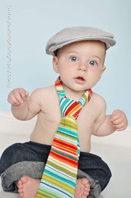 TiePictures Ideas, Multi Stripes, Photos Ideas, 1Yr Pictures, Baby Boys, Guys Necktie, 6 Month Photos, Boys Toddlers, First Birthday Pictures