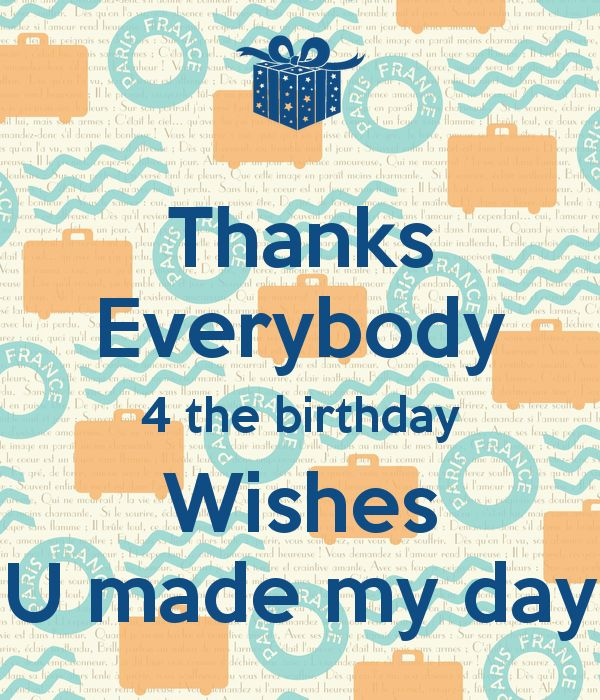 The 25 best Thanks for birthday wishes ideas – Birthday Wish Greeting Images