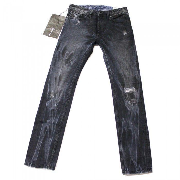 Diesel Thanaz 8V9 Mens Jeans | Cool of Coal | 008V9 | Slim | Tapered | Diesel Jean Sale | UK | Designer Man