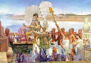 Puzzle Castorland 2000 Gasirea lui Moise Sir Lawrence Alma-Tadem