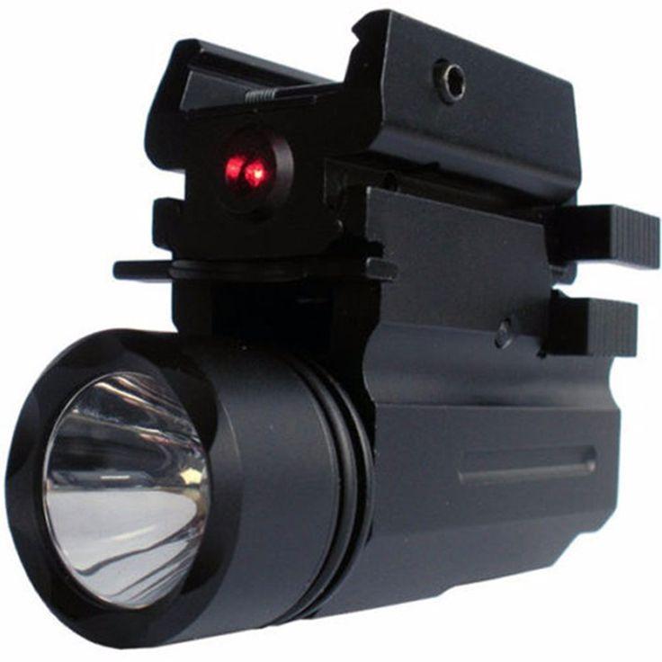 2in1 Red Dot Laser Sight+ LED Flashlight Combo Hunting Glock Accessories for Pistol Guns Glock 17,19,20,21,22,23,30,31,32