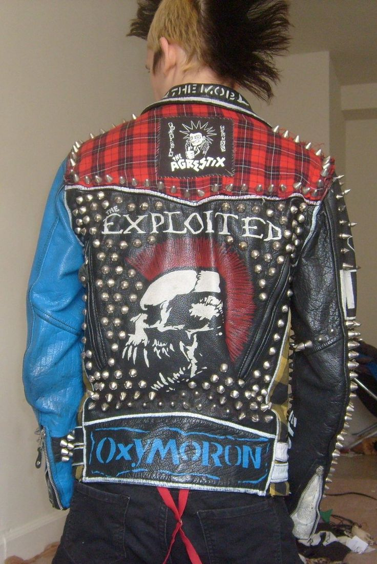 Leather jacket punk - Find This Pin And More On Punk Leather Jacket