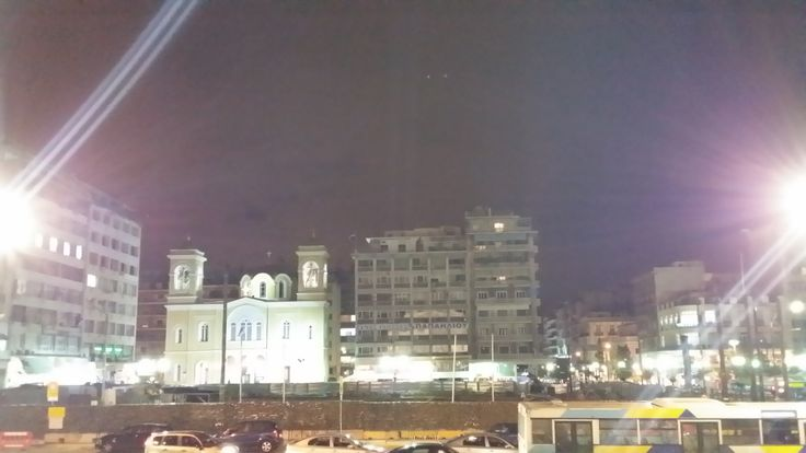 Night View of Karaiskou building