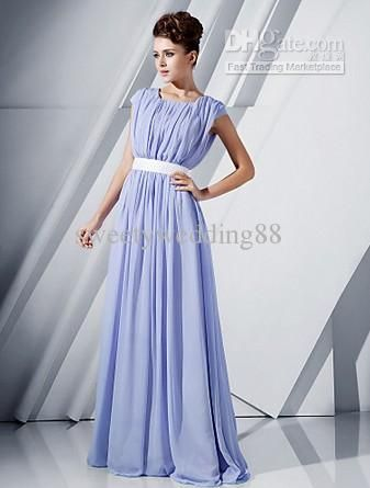 2015 New Arrival Modest Jewel Neck A Line Floor Length Chiffon Bridesmaid Dresses Cap Sleeve Long Bridesmaid Dress Bridesmaid Dresses For Kids Bridesmaid Dresses Lace From Sweetywedding88, $71.21| Dhgate.Com