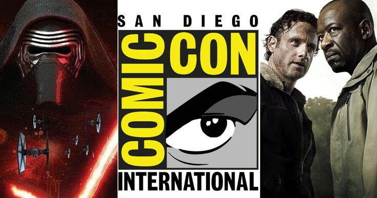 Comic Con 2015 Friday Schedule -- 'Star Wars: The Force Awakens', 'The Walking Dead', 'Game of Thrones' and more will be featured at Comic-Con on Friday, July 9. -- http://movieweb.com/comic-con-2015-friday-schedule/