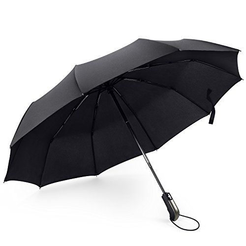 #FYLINA #Compact #Travel #Umbrella #Folding #Automatic and #10 #Ribs #Reinforced #Canopy #Windproof, #Ergonomic #Handle, Auto Open/Close for #Men and #Women #WINDPROOF DESIGN: Our #compact #umbrella made of #10 #reinforced fiberglass #ribs with sturdy metal frame, and highly wind resistant for rain and wind. Lightweight stylish and durable umbrellas is the best weather protection. #AUTOMATIC OPEN AND CLOSE: Features an auto open and auto close on #ergonomic rubberized #handle