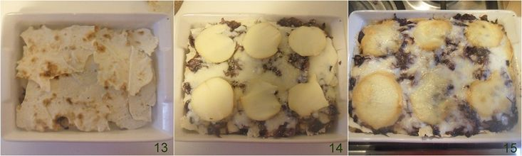 Lasagne al radicchio e scamorza ricetta il chicco di mais 5