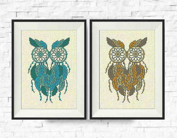 17 Best Ideas About Cross Stitch Owl On Pinterest