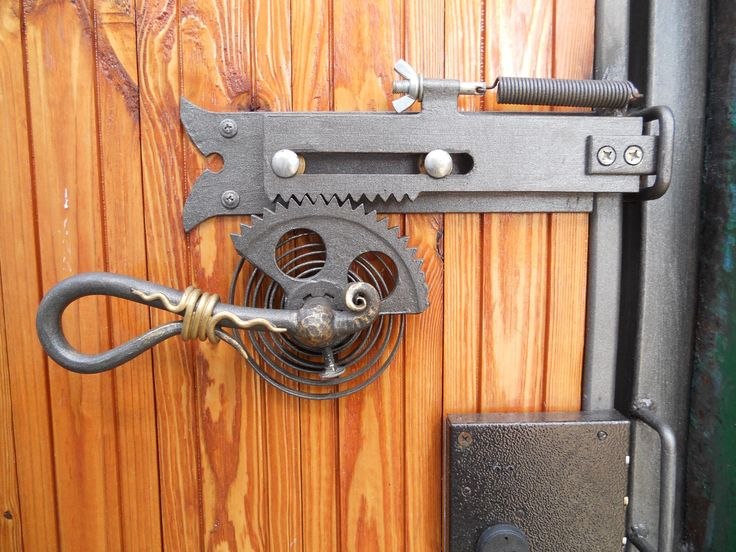 crazy metal lock, metal work, locks, locksmithing, handle, steampunk