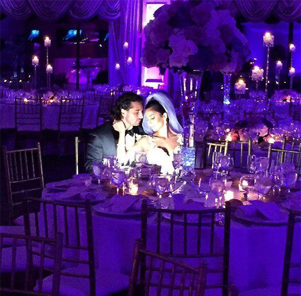 John Gotti Agnello wed Alina Sanchez on Sept. 25 at Oheka Castle on Long Island.