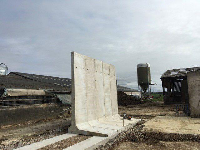 Retaining L Walls Installation Moore Concrete Concrete Retaining Walls Concrete Precast Concrete