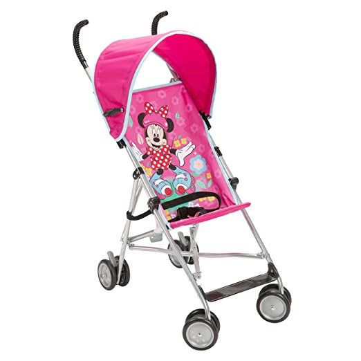Umbrella Stroller with Canopy for Baby Foldable Lightweight Disney All About Minnie. Make trips simple with this fun and alluring customizable shade umbrella stroller. The stroller includes an engaging All About Minie outline that your tyke will love. The protected 3-point tackle makes this stroller sheltered and advantageous. This stroller can hold a youngster up to 40pounds. Simple giving a lesser area occupied and easy to bring with. Improved fold mechanism: Easier, more natural…
