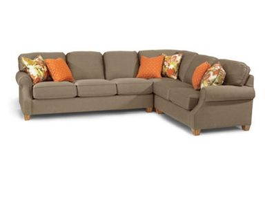 Shop For Flexsteel Sectional, And Other Living Room Sectionals At Siker  Furniture In Janesville, WI. Comes Standard With Plush Cushion.
