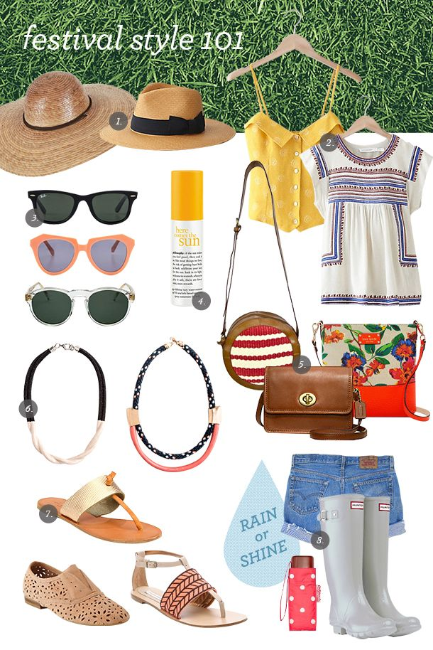 Festival Style Guide | Camille Styles