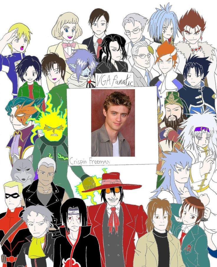 Crispin Freeman V.C. by VGAfanatic.deviantart.com on @deviantART