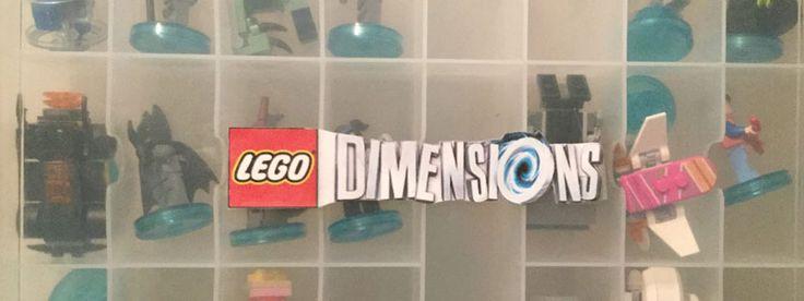 lego dimensions storage box set aufbewahrung leicht. Black Bedroom Furniture Sets. Home Design Ideas