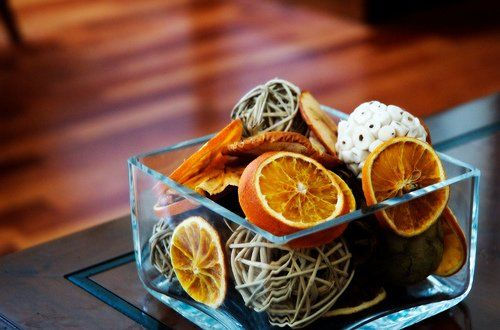 How to dry oranges and lemons for decoration. Master Class