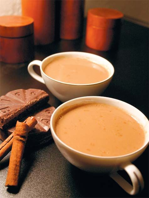 Champurrado (chocolate atole) - typical Mexican drinks during the ...