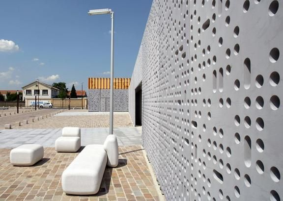 11 best facade panneau beton images on Pinterest Sign, Arquitetura