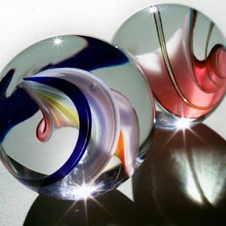 Swirled marbles