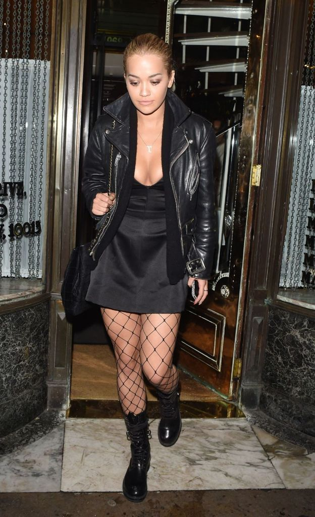 Rita Ora – Leaving Mr Chow's Restaurant in London : Global Celebrtities (F) FunFunky.com