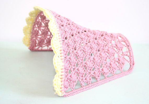 This listing is for a handmade crochet lampshade. It is made with 100% cotton.  The lampshade measures 8X6 and was crochet directly onto the wire frame