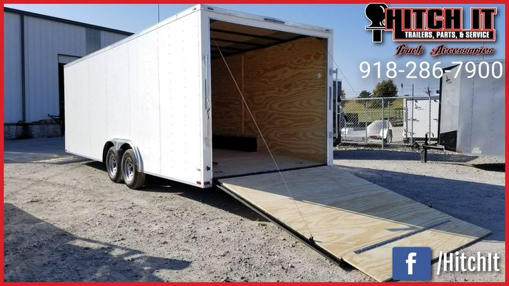 8.5 X 24 LARK tRAILER Hitch It Trailers Sales, Parts, Service & Truck Accessories 5866 S. 107th E. Avenue Tulsa, Oklahoma 74146 918-286-7900  #HitchIt #TrailerSales #TrailerService #TrailerParts #TruckAccessories #YourTrailerShop #Tulsa #Oklahoma Trailer Sales Trailer parts Trailer service repairs Truck accessories ONLY Oklahoma United Manufacturing Dealer NE Oklahoma Continental Cargo, Lark United and Tiger Trailers Dealer.  We sell  Enclosed Cargo Trailers & Race Trailers Landscape Tilt