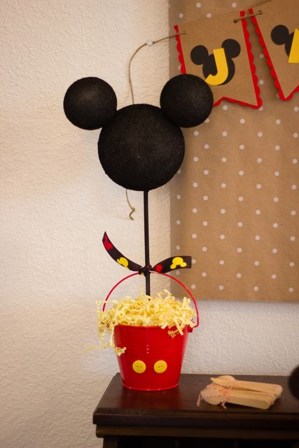Mickey Mouse Birthday Party Ideas   Photo 11 of 30   Catch My Party