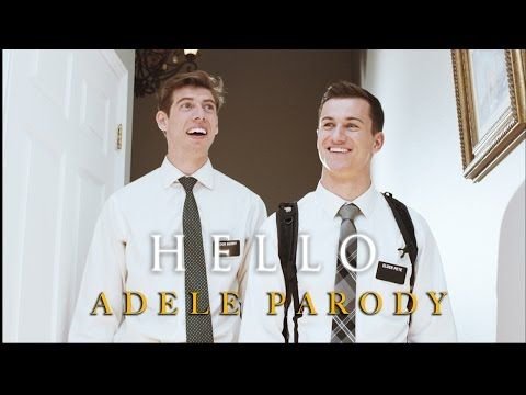 """You Don't Want to Miss This Hilarious Mormon Missionary Parody of Adele's """"Hello"""" 