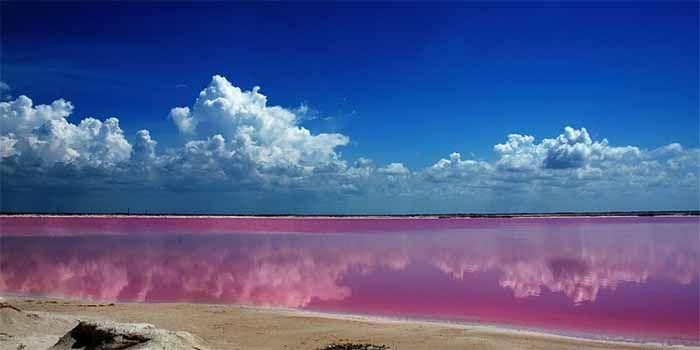 Las Coloradas, El mar rosa de Yucatán - Guía México - Rutas y Recomendaciones de Turismo en México