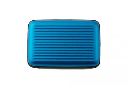 Etui porte cartes Ogon 5A bleu