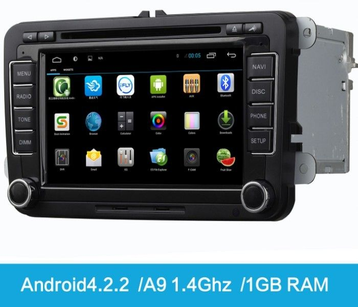 Factory wholesale car dvd player 2 din car android
