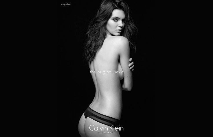 Kendall Jenner, la modelo del momento según Karl Lagerfeld, está lista para romper el internet con su atrevida aparición semidesnuda en la nueva campaña de Calvin Klein Underwear. ¿Podrá superar a su hermana mayor Kim?